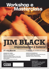 Workshop y Masterclass por Jim Black