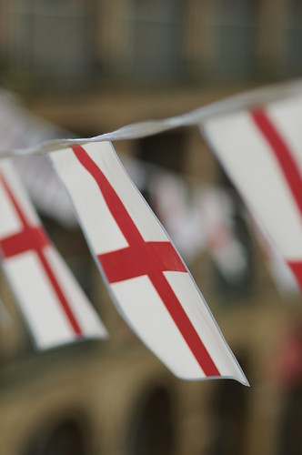 England flags