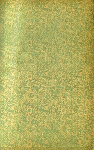 Old Floral Endpaper