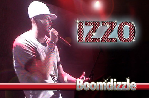 Video of Izzo performing on stage