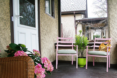 Nic's front porch, via her Flickr pages