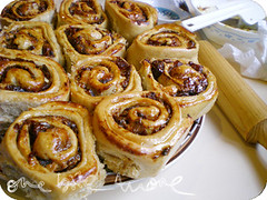 ricotta and date scrolls