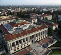 Doe Library, University of California, Berkeley (Michael Layefsky) Tags: library aerial kap kiteaerialphotography berkeleyca doelibrary universityofcaliforniaberkeley wwkap2009
