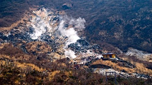 Owakudani. El valle del Infierno.