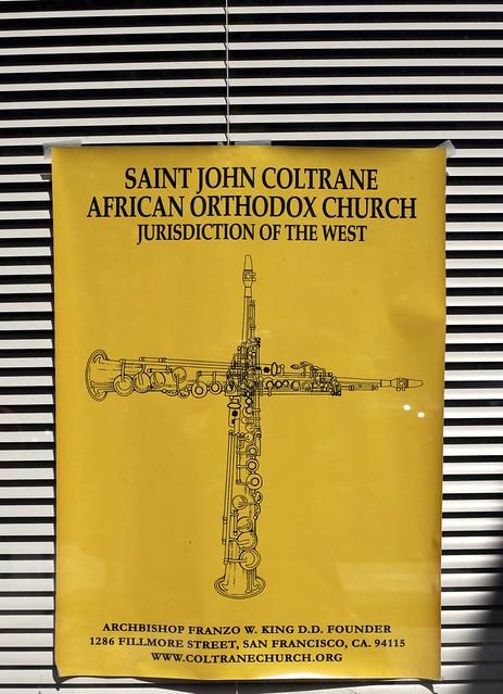 church of saint john coltrane