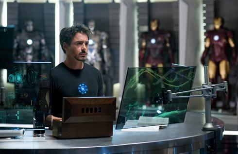 First Iron Man 2 Image Is Online