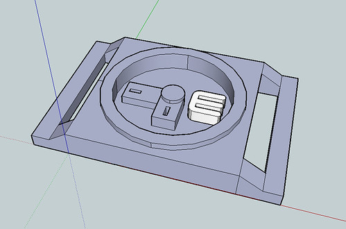 MakerBot Watch (in sketchup)