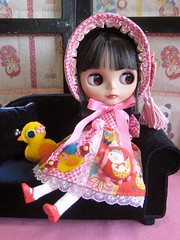 Bunka Doll Style Out Fit For Blythe01