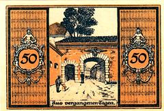 Glatz, 50 pf, 1920 (Iliazd) Tags: money germany graphicdesign notgeld papermoney germaninflationarycurrency emergencymoney 19171923 germanpapermoney