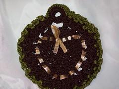 Sachê/ porta sabonete (Mar de flores) Tags: flowers flores fuxico yoyo fux croche fuxicos fuxicando crochetando fuxicaria fuxic