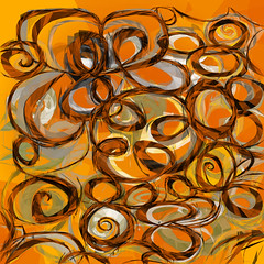 orange.awakening.02 (mark knol) Tags: orange abstract art awakening flash curves generative generated actionscript as3 markknol