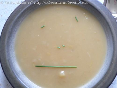 Kartoffel-Lauchsuppe aus dem Slow Cooker
