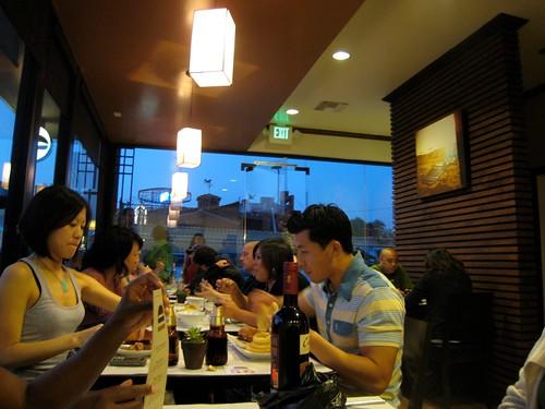 Inside Umami Burger