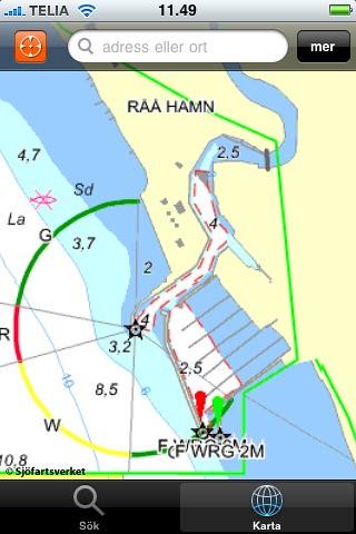 Eniro sjökort