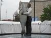 The Love That Dare Not Speak Its Name (Mike Barish) Tags: fish chicago man aquarium wtf sheddaquarium beastiality