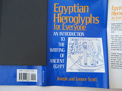Hieroglyphics Book Cover.JPG (Journey to Ancient Civilizations) Tags: egypt hieroglyphics