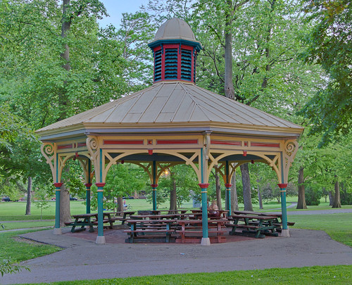 Tower Grove Park, in Saint Louis, Missouri, USA - Humboldt South Pavilion