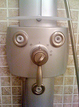 Peek-A-Boo Shower Man