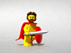 Agamemnon (Dunechaser) Tags: greek lego troy greece homer minifig minifigs custom mythology iliad mycenae argos arealight