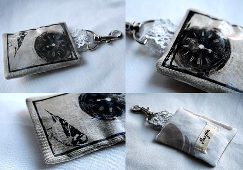 Keychain - lavender bag
