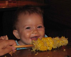 Sasha loves corn