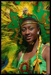 Swedish carneval (Dan Wiklund) Tags: portrait people black green girl face yellow gteborg sweden gothenburg dancer sverige d200 scandinavia 2009 carneval karneval hammarkullekarnevalen hammarkullen hammarkullefestivalen lpfaces