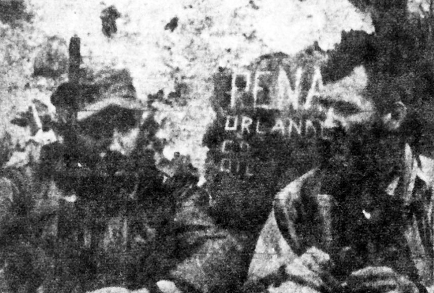 Taber interviews Castro, Cuba 1957