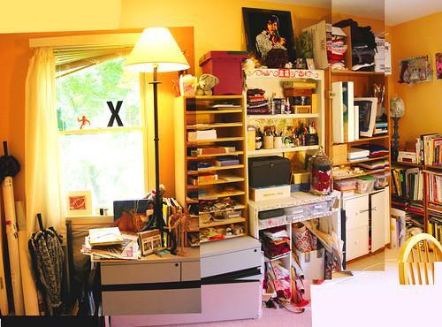Studio (6-09): NW Wall