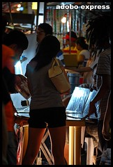 Under a bright light (adobo express) Tags: legs philippines quezon lucena pasayahan