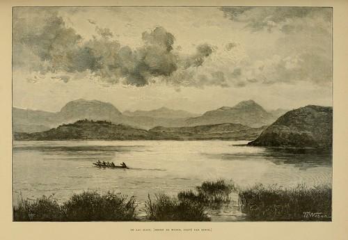 006-El lago Itasy-Madagascar finales siglo XIX