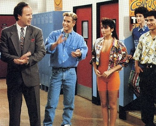 Unlike some things (like Saved by the Bell), a solid corporate Web site tailored to brand objectives never goes out of style (image via FanPop).