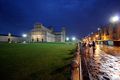 ... in Pisa #6 ... (LordRayden) Tags: rain night artwork postcard pisa p pioggia masterpiece notturno orablu pratoverde escomodofotografareconilgrandangolaresottoallapioggia
