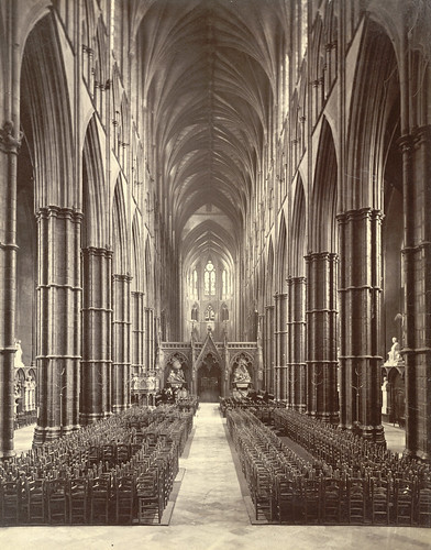 Westminster Abbey. The Nave