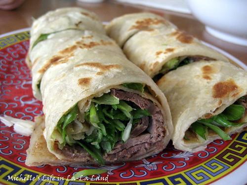 Mandarin Noodle House- Beef Pancake Roll