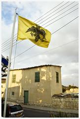 Byzantine flag (-Filippos-) Tags: flag cyprus orthodox byzantine greekorthodox       avdellero