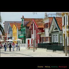 Costa Nova (CGoulao) Tags: street blue red costa green tourism portugal nova yellow rua typical casas turismo aveiro lhavo costanova platinumheartaward