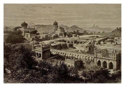 013-Excavacion de una ciudad en Golconda-La India en palabras e imágenes 1880-1881- © Universitätsbibliothek Heidelberg