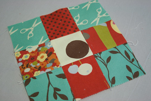 pressing quilt pieces (tutorial)