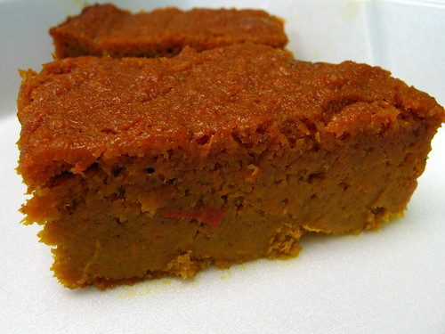 Carrot pudding/cake