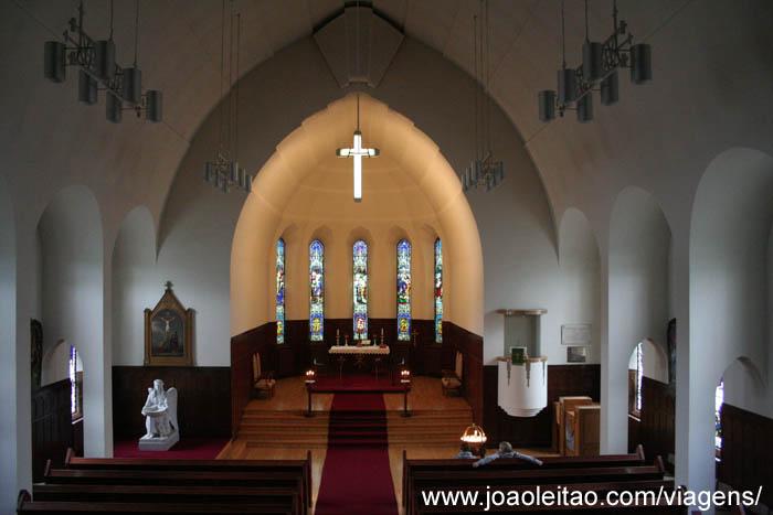 Igreja de Akureyri Islândia
