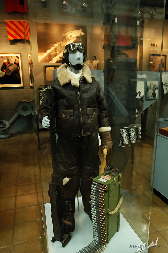 Navy Patrol Bomber Air Gunner Clothing at the U.S. Navy Museum