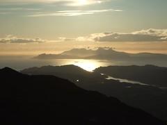 Sunset from Beinn Resipol