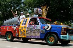 Big Eyes (sherihall) Tags: car houston 2009 artcarparade
