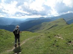 Verso la Forcella Valles - Trekking sulle Pale, Dolomiti
