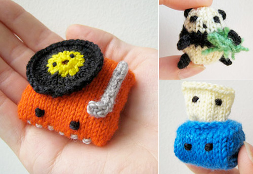 Tiny Knit Things from MochiMochi