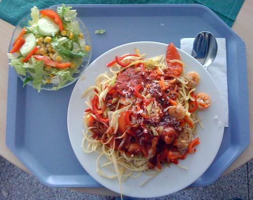 Spaghetti ala Gamba