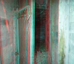 Pocohontas Mine Trail, Jasper National Park (Redbeard Math Pirate) Tags: stereoscopic 3d jasper anaglyph stereo redblue jaspernationalpark anaglyphic threedimensional redcyan 3dpictures pocohontasmine