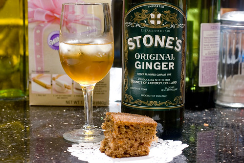 Stone's Ginger with Carrot Cake