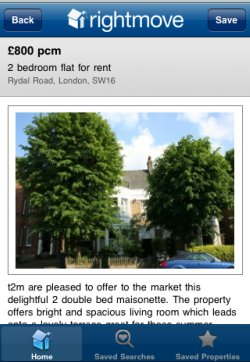 Rightmove property details page