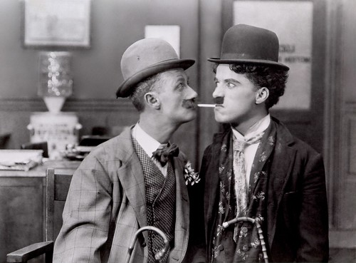 Silent movies, like those from Charlie Chaplin, entertained without sound